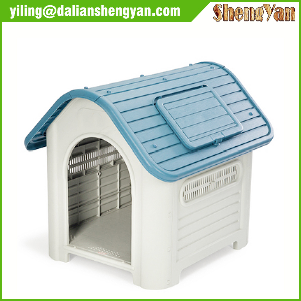 Indoor Outdoor Pet House Small to Medium Plastic Dog house