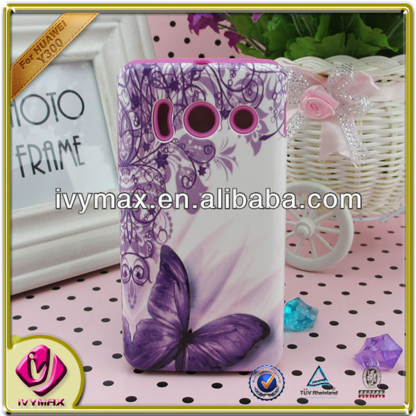 ivymax OEM design combo case for huawei y300