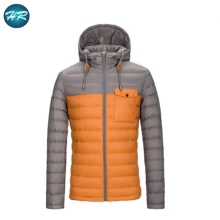 Popular style mens winters outdoor latest fabric elegant clothes down fashion jacket coat men