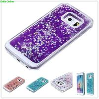 Dynamic Liquid Glitter Sand Quicksand Star coque For Samsung galay Core grand prime J5 S3 S4 S5 S6 S7 case Crystal Clear Cover