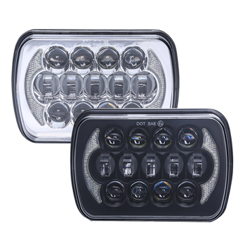 "LOYO Patented 105W 85W Osram square 7"" 5x7 led head lights 7 inch truck headlights"