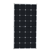 Factory low price solar panel frameless flexible solar panel 50w 100w 200w 18v 36v