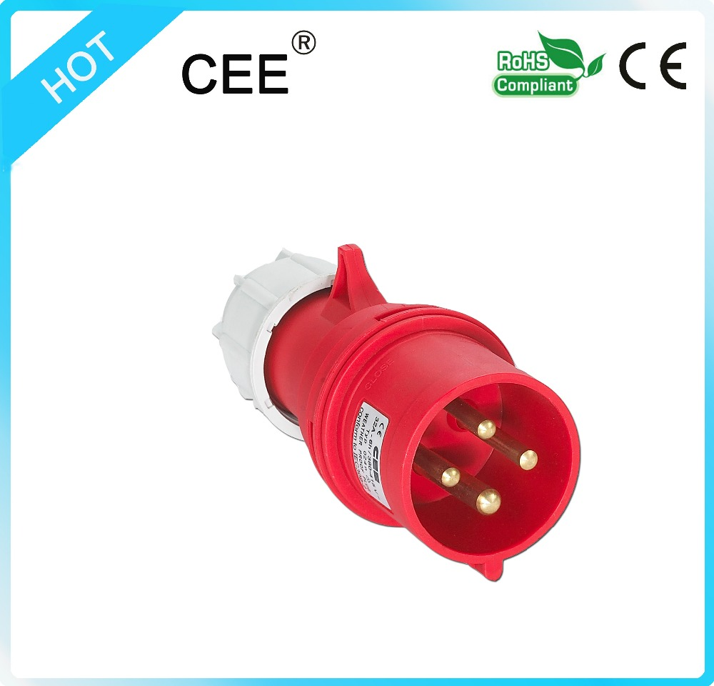 CEE -014n Low Voltage Plug and socket electrical 380v plug socket electrical plugs and sockets
