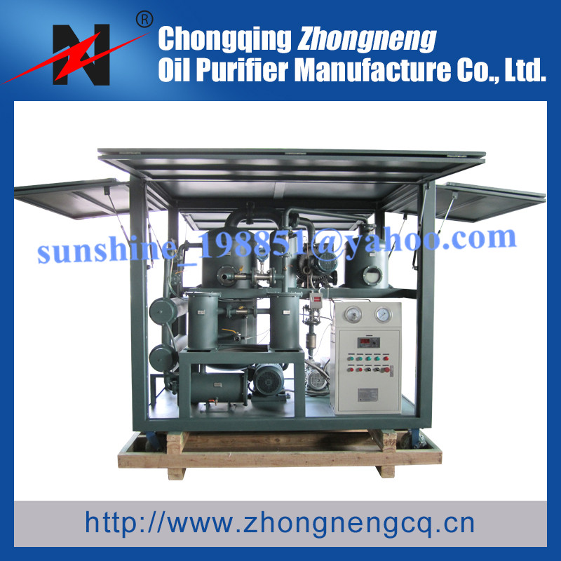 Ultra-high Voltage Insulating Oil Treatment Solution/Oil Purifying Solution