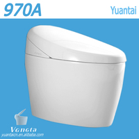 sanitary ware one piece toilet design made in china wall mounted ceramic toilet Bathroom Fitting One Piece Standard Size