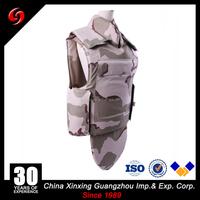 NIJ IIIA bulletproof vest with neck groin protection/Front, Rear, Neck, Throat, Groin Detachable Full Guarding Regimental bullet
