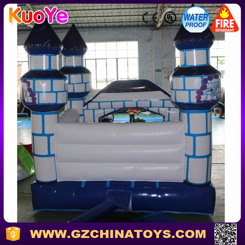Popular frozen elsa bouncer mini inflatable bounce house with blower for sale