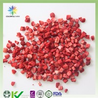 freeze dried fd strawberry cube