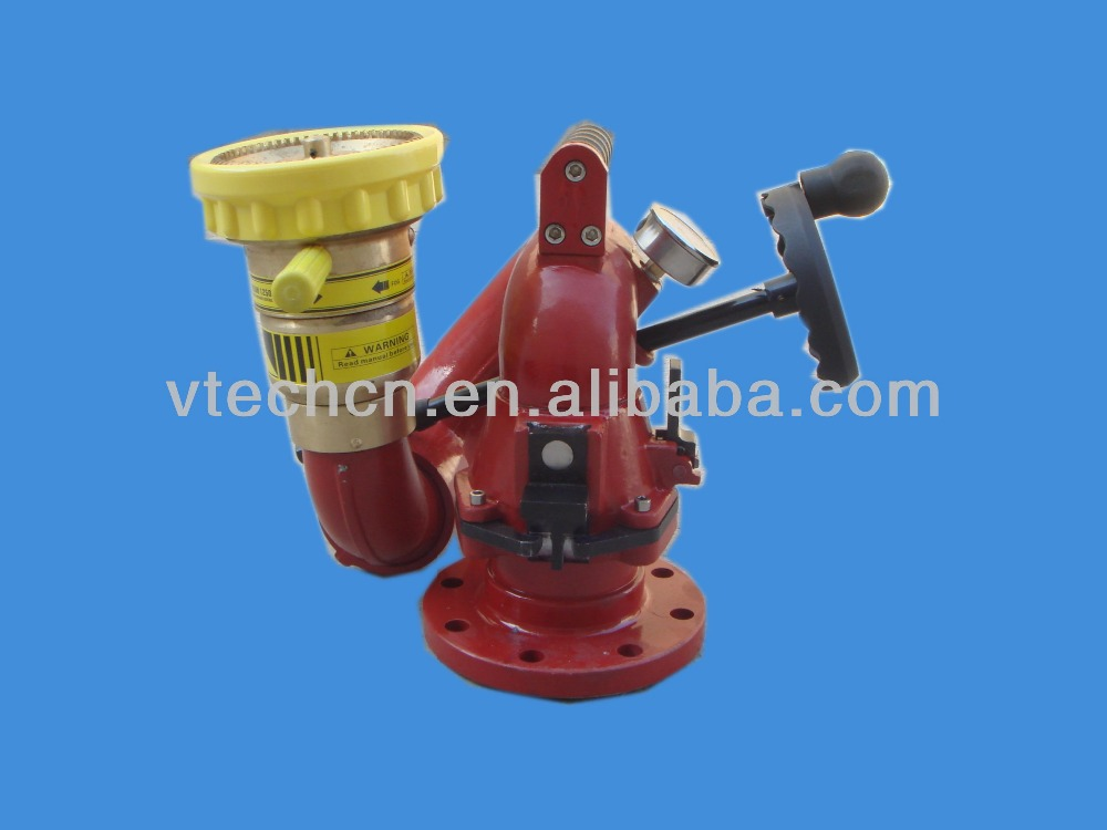 2015 Fire Gun System:manual fire fighting water cannon/ Fire water monitor