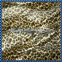 2014 Hot Sell Polyester Animal Print Faux Fur Velboa Fabric For Toys, Bags, Shoes, Clothes and Hat