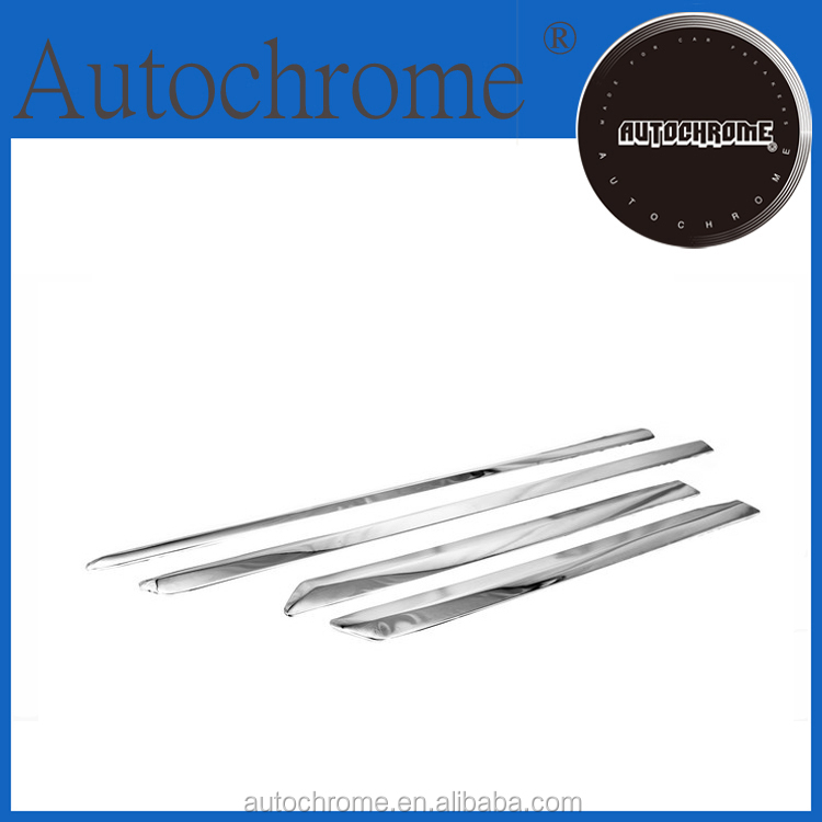 ABS plastic abs car accessories chrome side door moulding trim type B for Toyota Rav4 2013 Up
