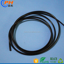 PU pneumatic 100 meters black color plastic tubes 4mm