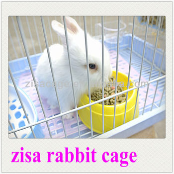 lovely rabbit pet cage and house