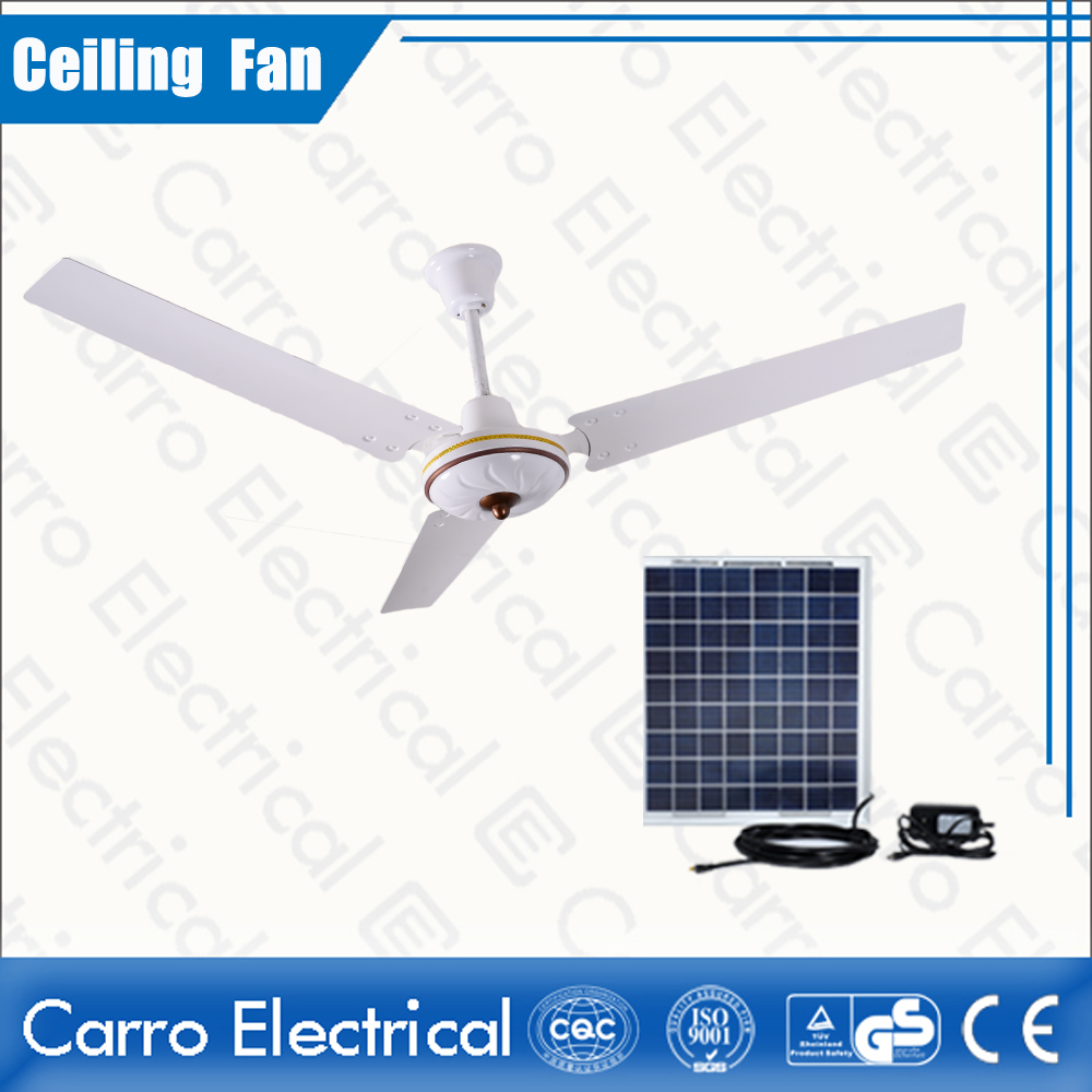 New product ac dc brushless motor rechargeable battery operated ceiling fan