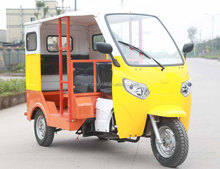 Chongqing Chinese Manufacturer Price 2 Rows Auto Rickshaw Taxi Passenger Tricycle