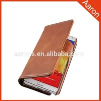 phone accessories phone Leather Case for Samsung Galaxy Note 3 wallet case