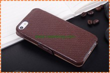 fashion folded gridding leather phone case for iphone5