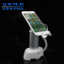 Smart Phone Alarm Display Stand, Desktop Mobile Phone Anti-theft Display Stand with clasp