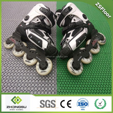 High quality interlocking court floor for roller skating