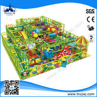 CE certified indoor inflatable playground on sale with animal paint