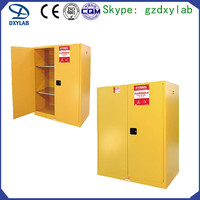 Industrial Flammable Chemical Safety Cabinet with Yellow Color
