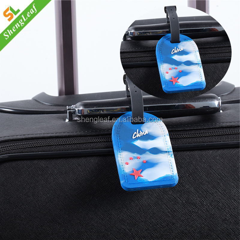 High quality luggage travel ID labels bag tag with clear slot