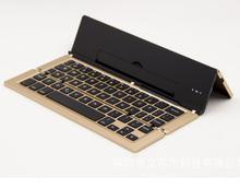 Slim Mini Folding Universal Wireless bluetooth 3.0 keyboard for Windows / Android/ios tablet/ pc/phone