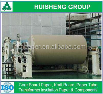 Uncoated Wood Pulp Core Paper Coils Ply Bond 200~600gsm