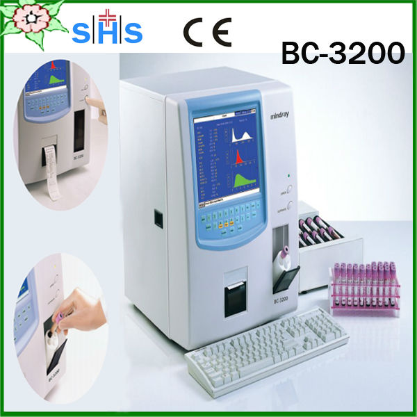 BC-3200 medical laboratory equipment 3 part hematology analyzer with FDA