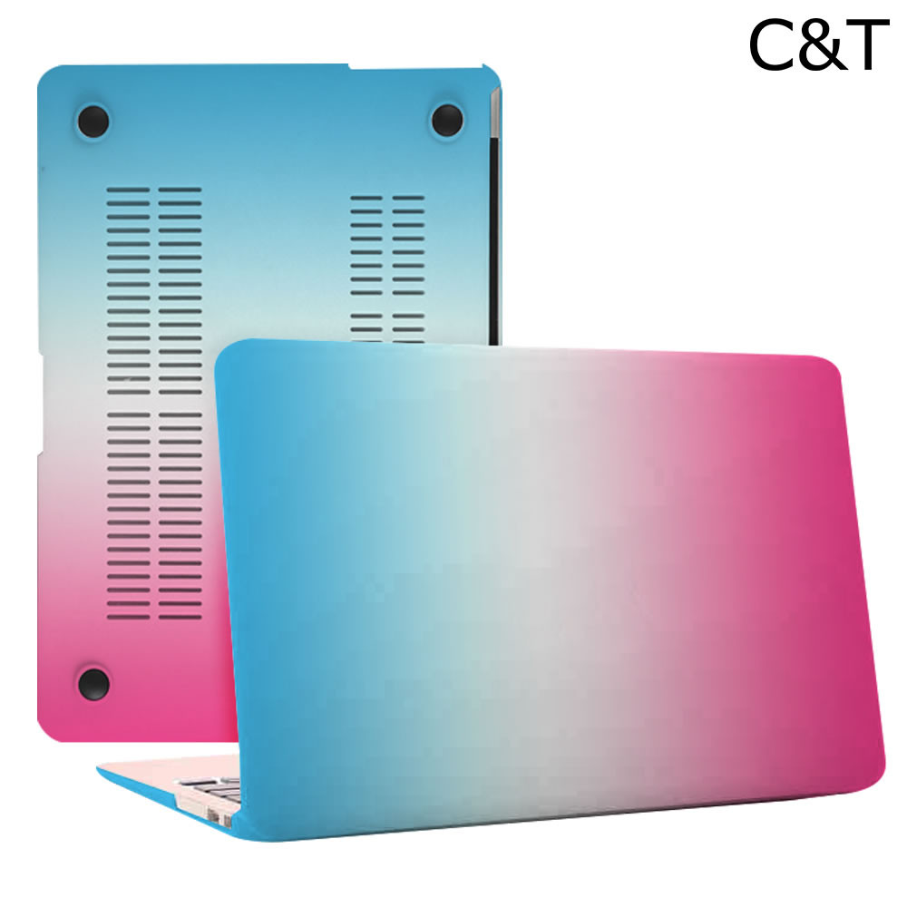 C&T Tribal Pattern Matte Rubbered Hard Case Protective Cover for MacBook 12""