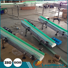 PVC/PU Used In Food Processing Industry Flat Belt Conveyor