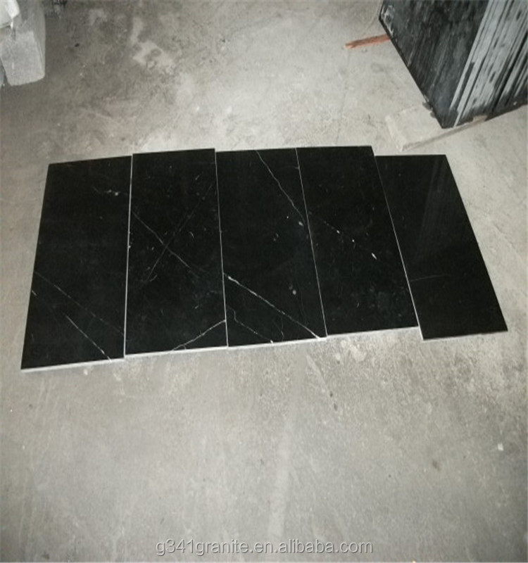 BLACK MARBLE WITH GOLD WHITE VEINS NERO PICASSO, belgium black marble