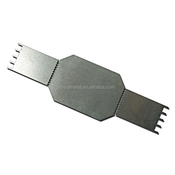A Custom Tailor High Precision Stamping Metal Parts, Chrome Silver Paint RF Shield