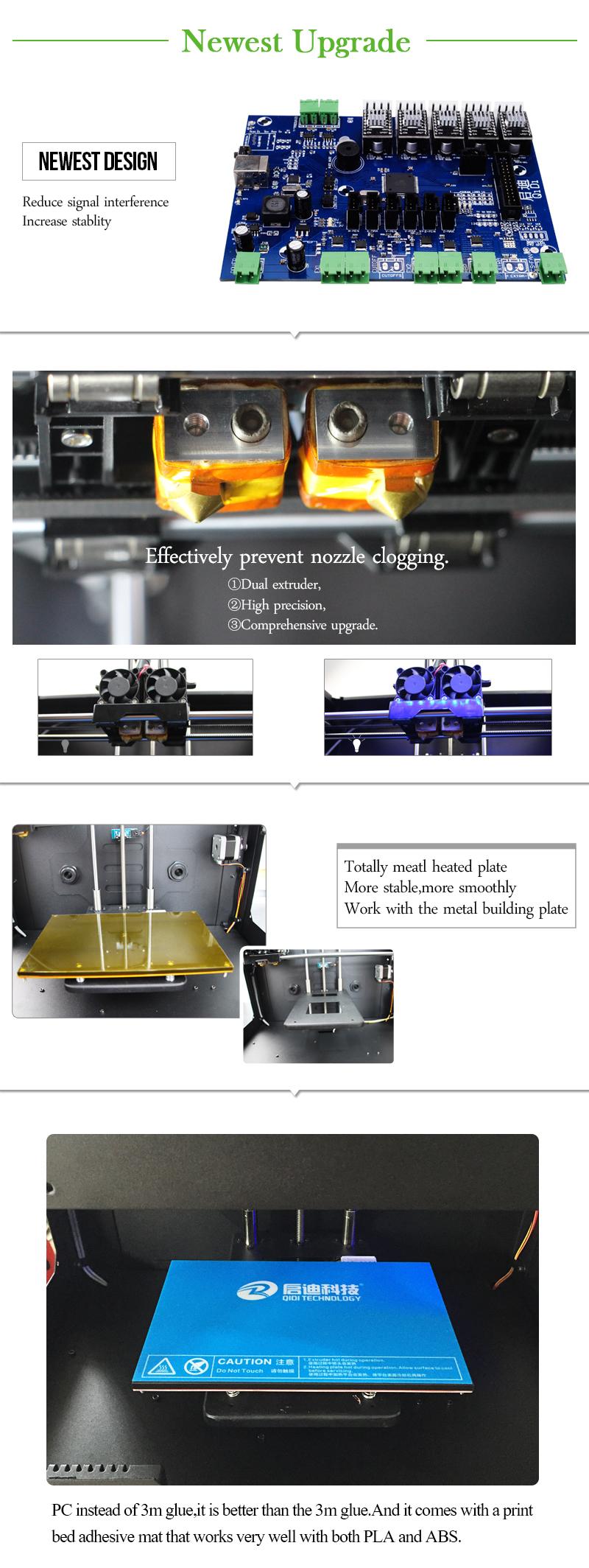 2014 newest dropshipping 3d imprimante 3d printer extruder. Black Bedroom Furniture Sets. Home Design Ideas
