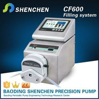 Bottle filling portable tube pump,stepping motor electric oil pump filling,semi automatic dispensing pump