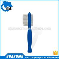 pet silicone brush flea comb dog hair comb GM 407