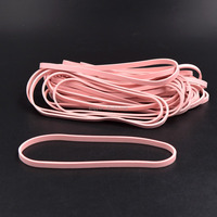 70*3.5mm Custom Pink Natural Rubber Band