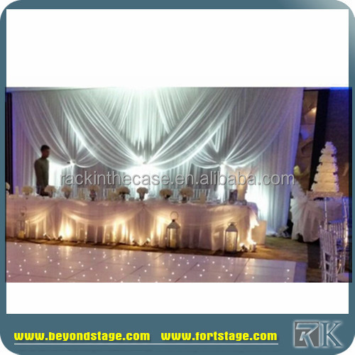 flower wall backdrop/ceiling drapery fabric/Concert indoor events stage backwall decoration