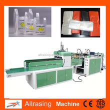 Automatic rolling garbage plastic bag making machine