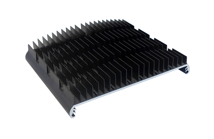 2019 new anodizing custom aluminum extruded heat sink