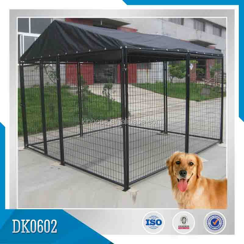 Cage Steel Dog Kennel With Roof