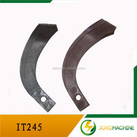 IT 245farm Tiller Blades With Tractor