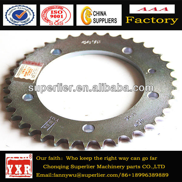 Ybr125 motorcycle sprocket,ybr125 sprocket for sale,ybr125 chinese motorcycles sprocket