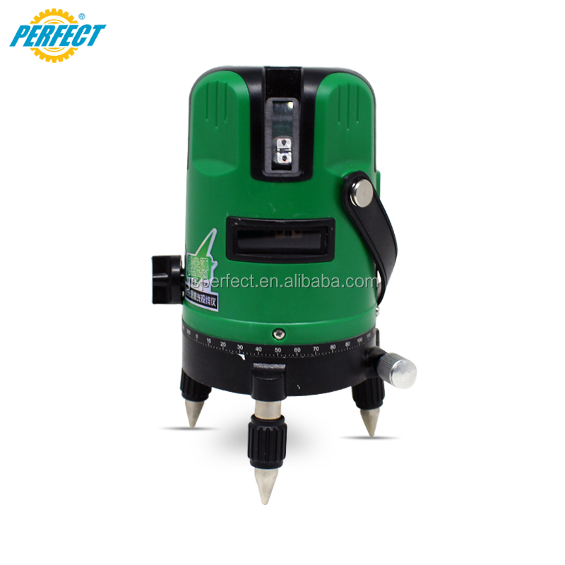90 degree laser level 5 cross multi lines green 532nm prices OEM