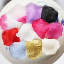 Emulational Fabric Flower Mini Rose Petals for Weddings (100 Pcs per pack) (Pink)