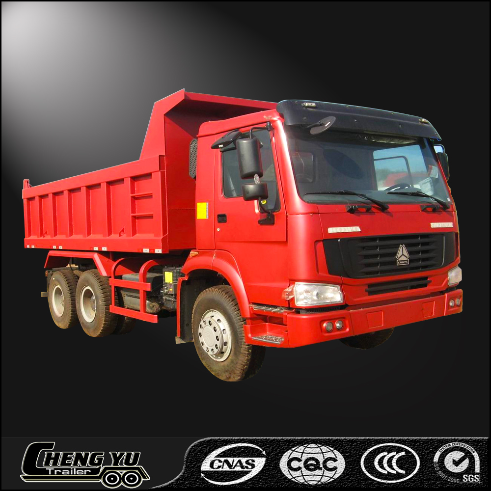 Good conditions used 6x4 diesel dump truck tipper with low price
