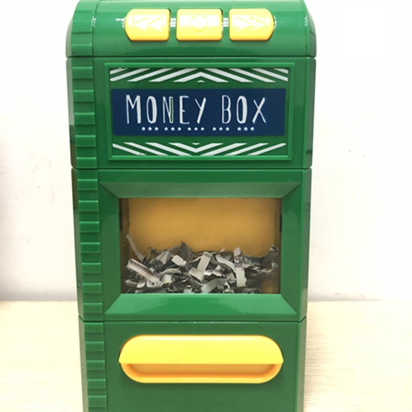 safety money box cupcake coin bank