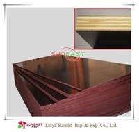 Linyi 18mm building construction materials waterproof film faced plywood,shuttering plywood sheet,marine plywood