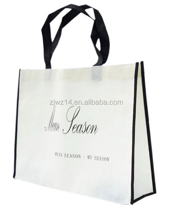 cheap fashion best price laminated polypropylene non woven bag/ full printed tote bag/ full print non woven bag