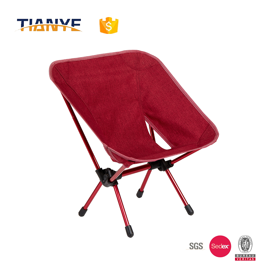 aluminium light portable metal reclining camping folding chair